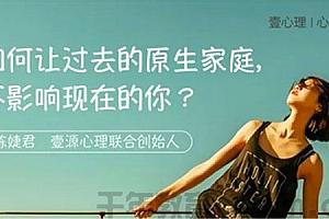 陈婕君-如何让过去的原生家庭 不影响现在的你