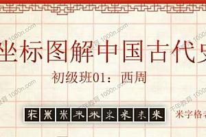 米字格老师 坐标图解中国古代史暑期班