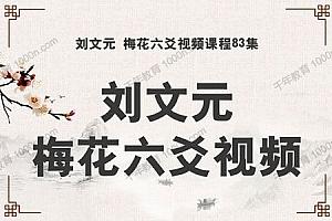 刘文元 梅花六爻83集高级实战特训面授班