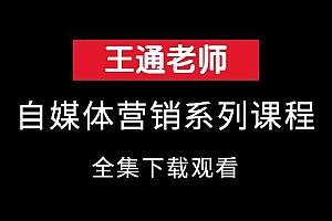 王通自媒体营销全集
